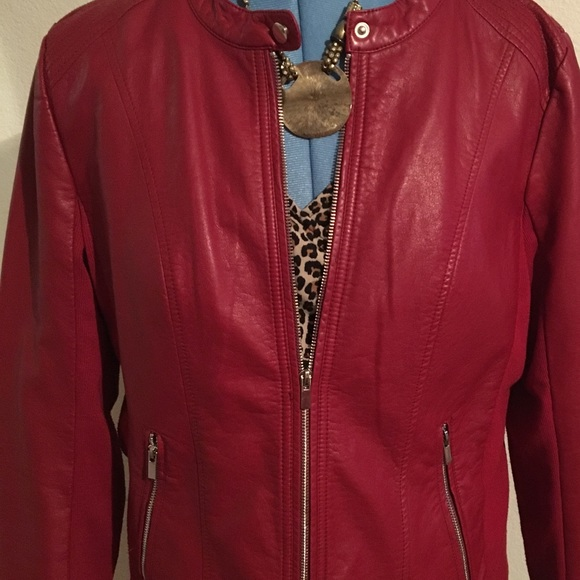 536106c6cf8 Kenneth Cole Reaction Jackets   Blazers - Kenneth Cole Reaction. XXL. Faux  leather jacket